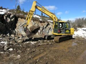 Utgravning av naturstein